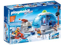 Playmobil Playmobil 9055 Polární základna Playmobil