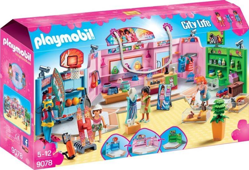 Playmobil Playmobil 9078 Nákupní pasáž Playmobil