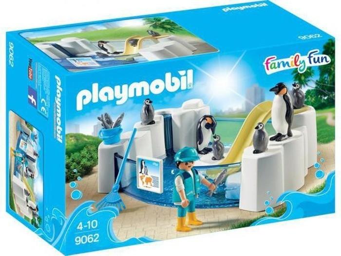 Playmobil Playmobil 9062 Bazén s tučňáky Playmobil