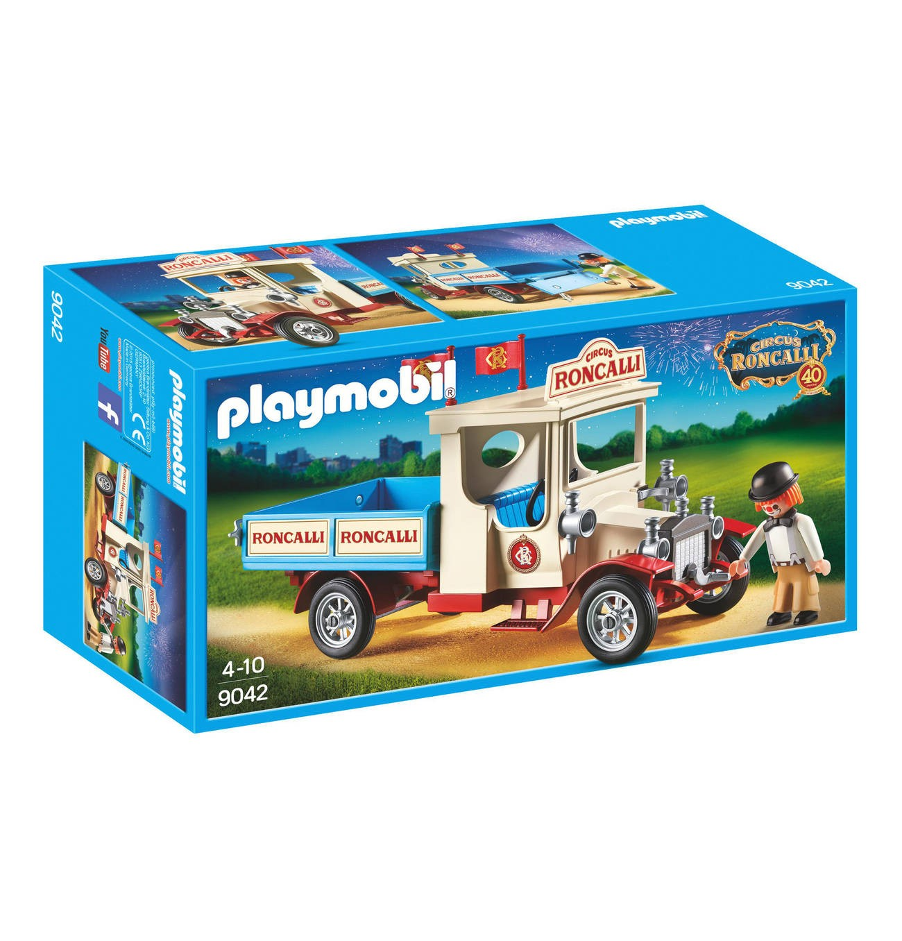 Playmobil Playmobil 9042 Staré cirkusové auto Playmobil