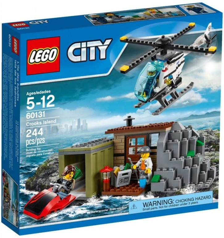 Lego LEGO City 60131 Ostrov zločinců