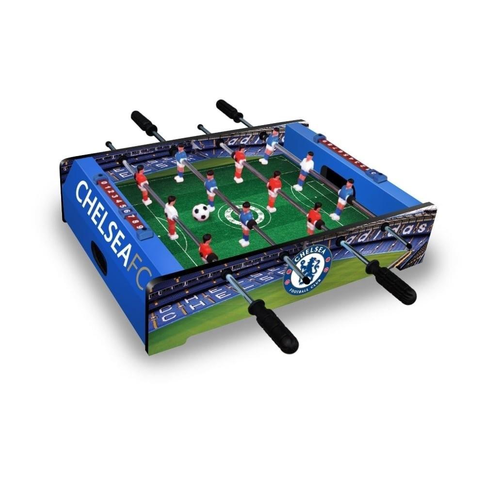 Goleto Stolní mini fotbal fotbálek Chelsea 51x37x12 cm