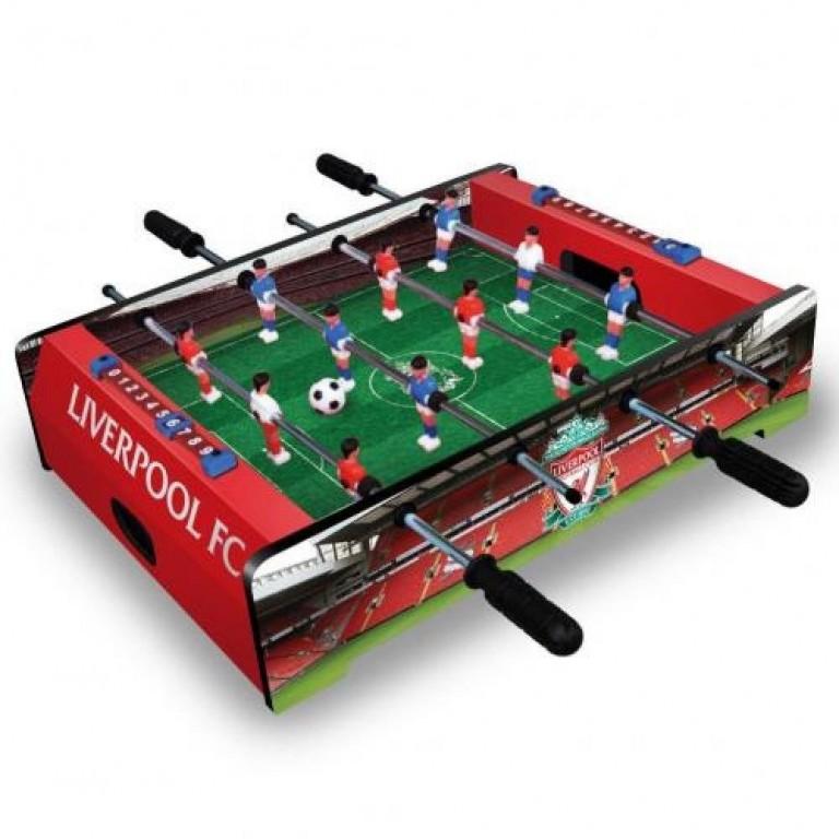 Stolní mini fotbal fotbálek Liverpool 51x37x12 cm