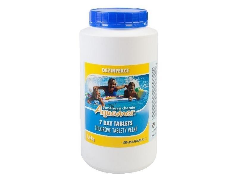 Bazénová chemie Marimex AQuaMar 7 Day Tablets 1,6 kg