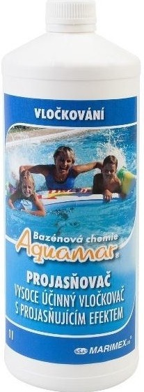 Bazénová chemie Marimex AQuaMar Projasňovač 1 l