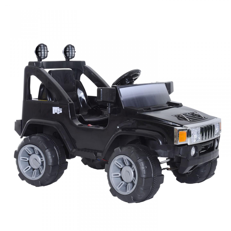 Goleto Dětské elektrické auto Jeep MP3, černé