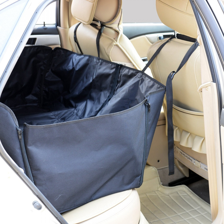 Goleto Ochranná deka taška pro psy do auta 145 x 130 cm
