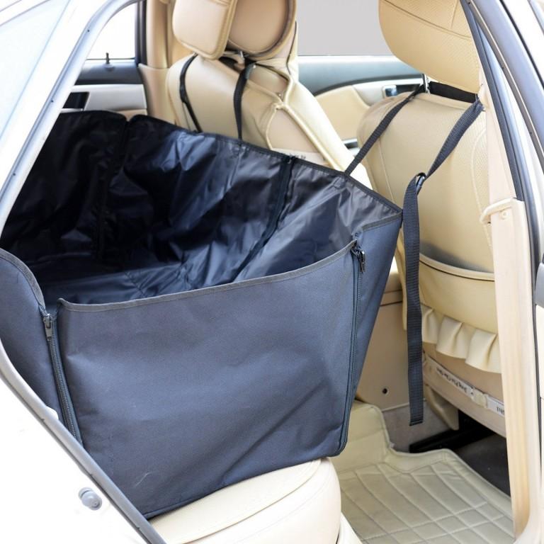 Ochranná deka taška pro psy do auta 145 x 130 cm