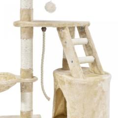 Škrabadlo pro kočky 118x50x40 cm, béžové č.3