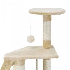 Škrabadlo pro kočky 118x50x40 cm, béžové č.6