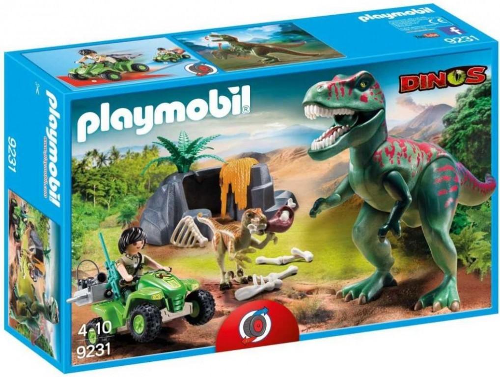 Playmobil 9231 Útok T-Rexe