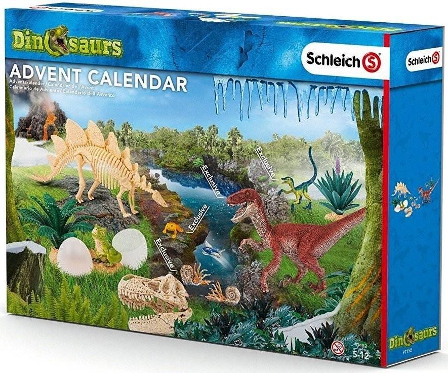 Adventní kalendář Schleich Dinosauři