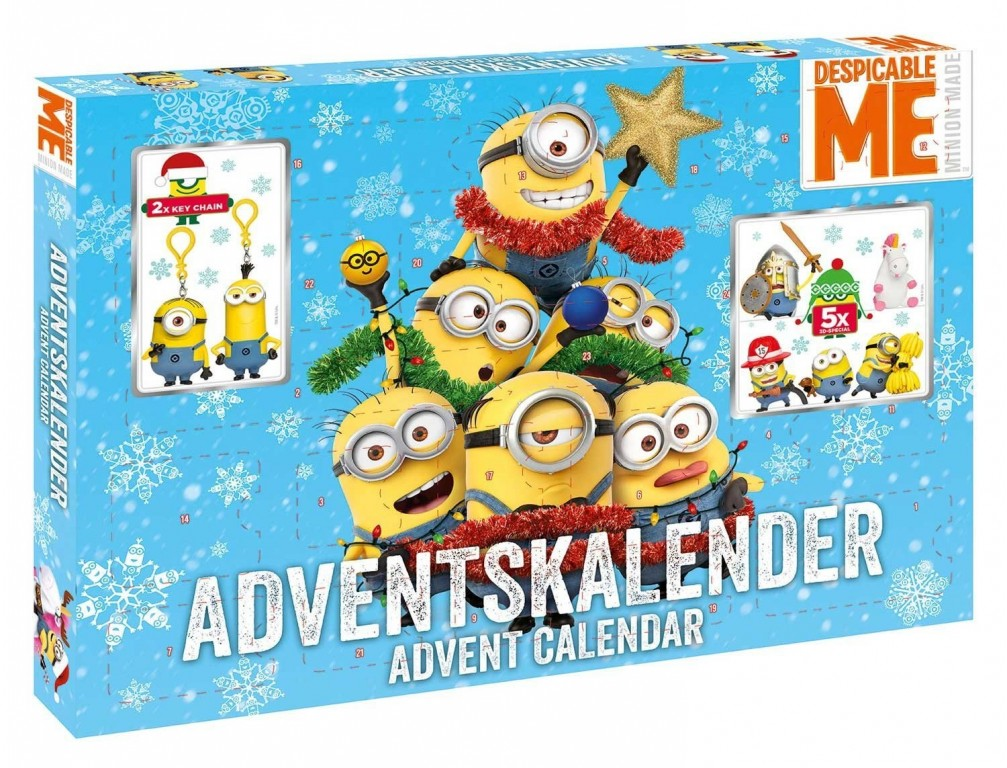 71529db77e5 Adventní kalendář Mimoni Craze 2017
