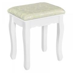 Originální vintage toaletní stolek se zrcadlem Sophia | bílý č.6