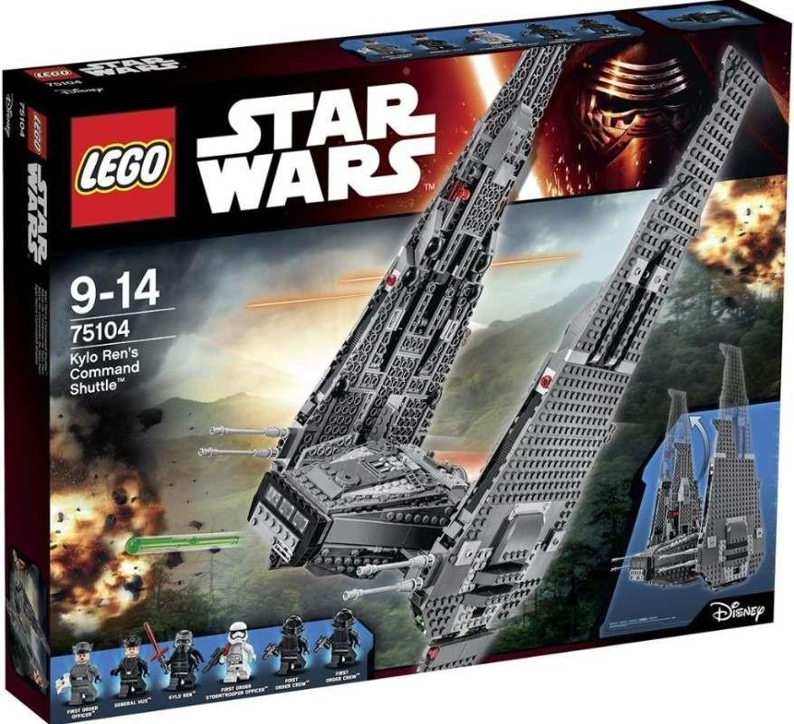 Lego LEGO Star Wars 75104 Kylo Renova velitelská loď