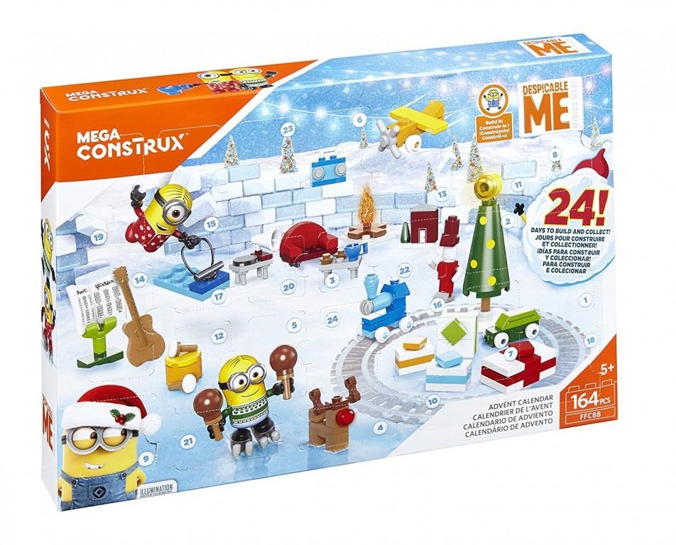 Adventní kalendář Mimoni Mattel Mega Construx 2017