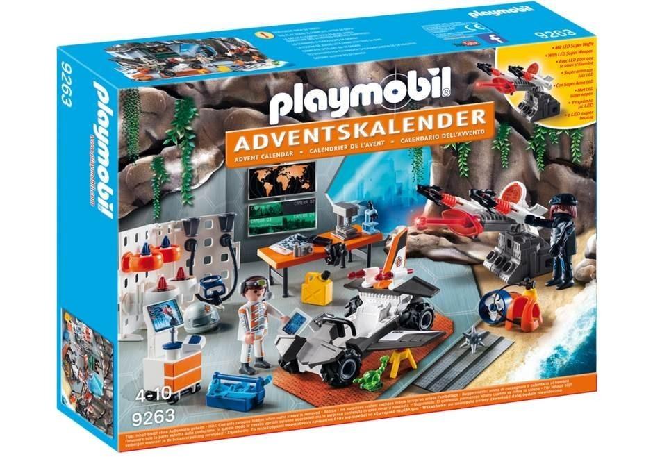 Adventní kalendář Playmobil 9263 Top Agents