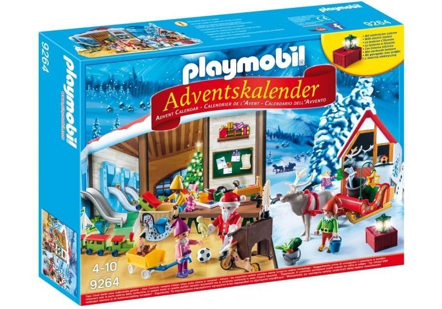 Adventní kalendář Playmobil 9264 Santova dílna