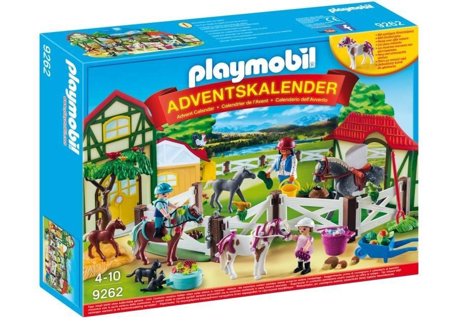 Playmobil Adventní kalendář Playmobil 9262 Koňská farma