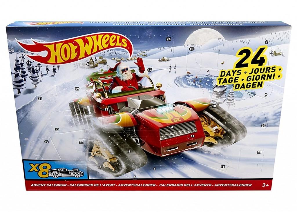 Adventní kalendář Hot Wheels 2017