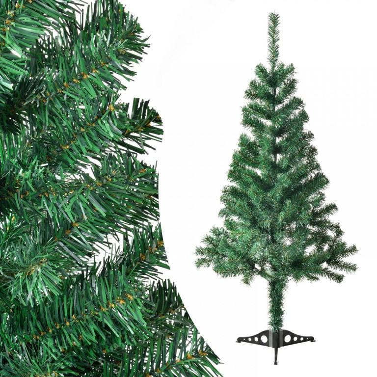 Umělý vánoční stromek 120 cm zelený