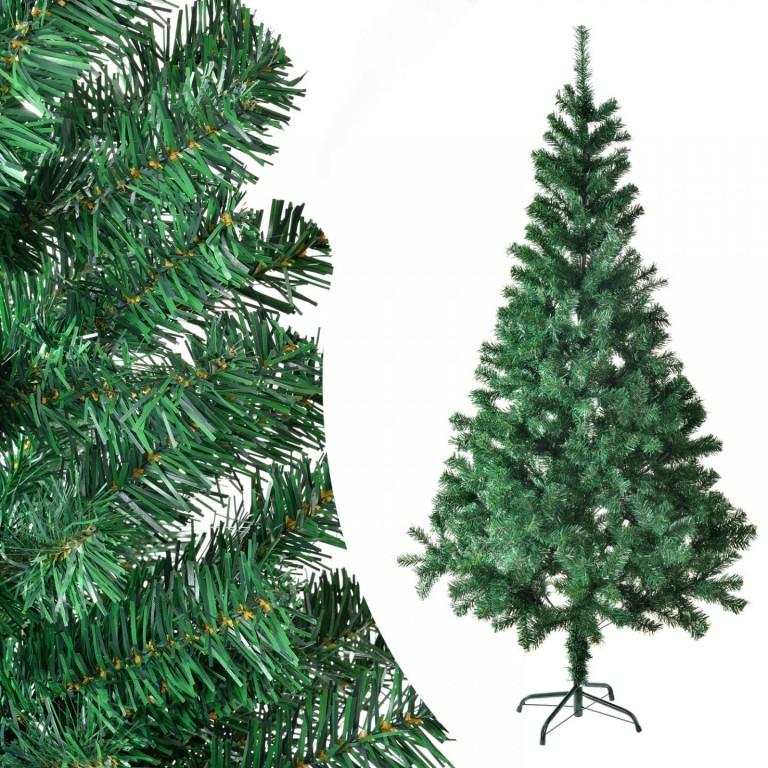 Umělý vánoční stromek 210 cm zelený