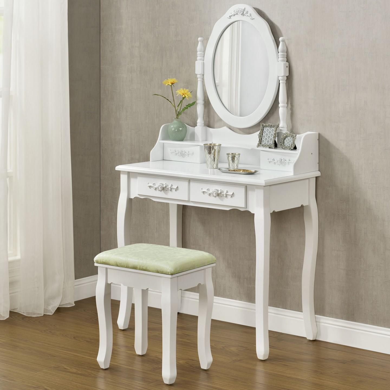 origin ln vintage toaletn stolek se zrcadlem mira b l. Black Bedroom Furniture Sets. Home Design Ideas