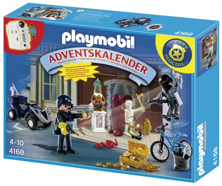 Adventní kalendář Playmobil 4168 Policie