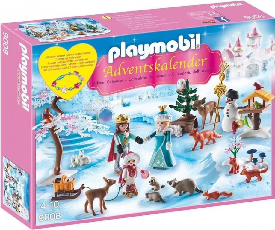 Adventní kalendář Playmobil 9008 Ledová pricezna