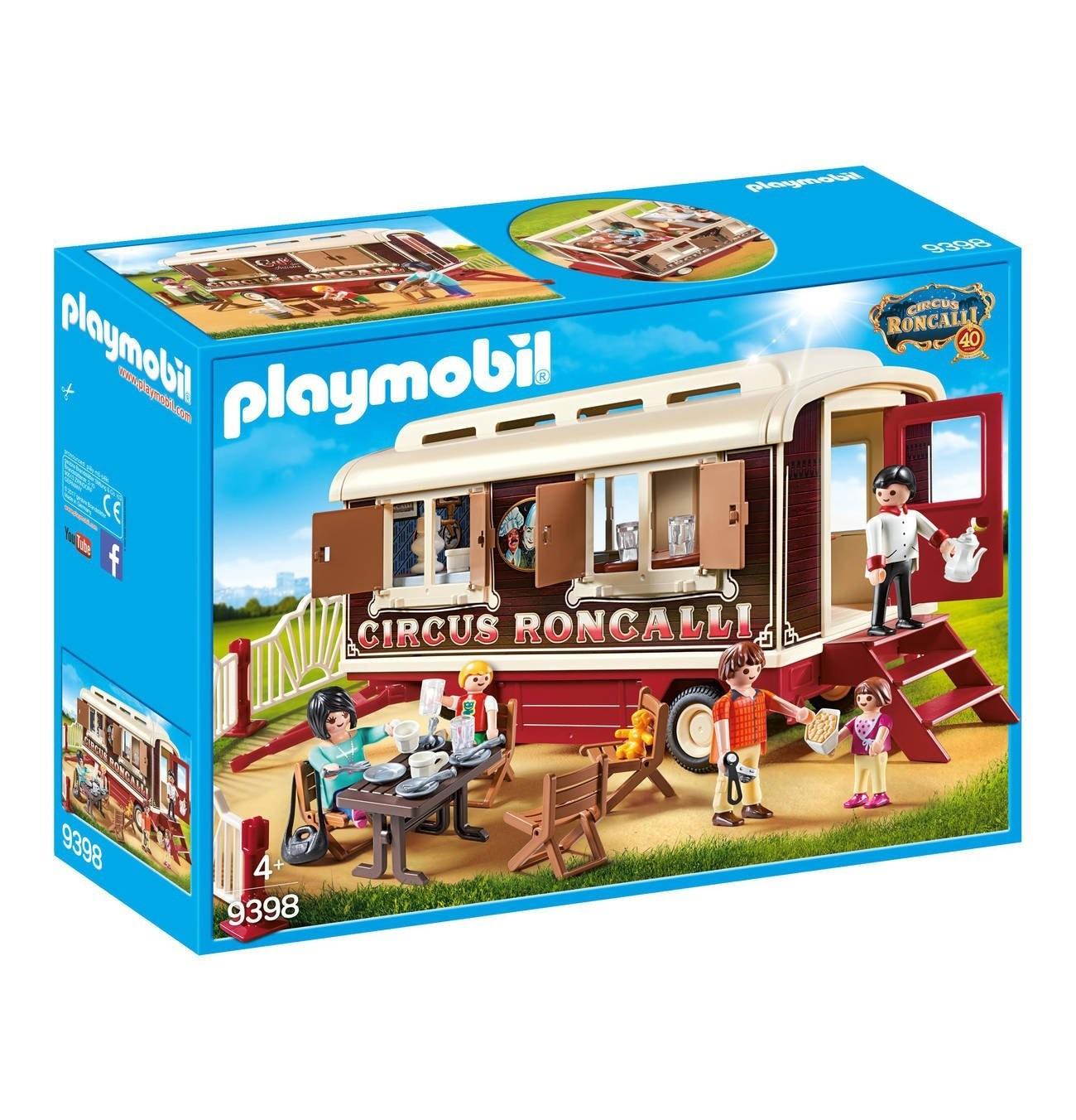 Playmobil Playmobil 9398 Odpočinek artistů Playmobil