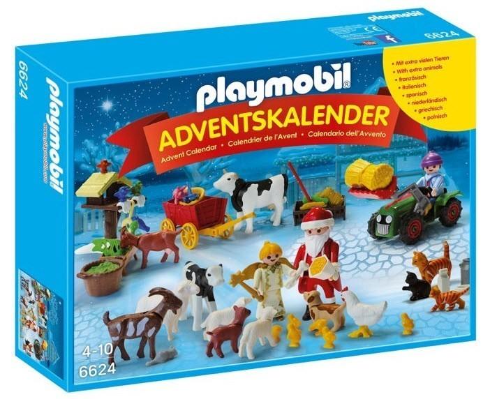Adventní kalendář Playmobil 6624 Vánoce na farmě