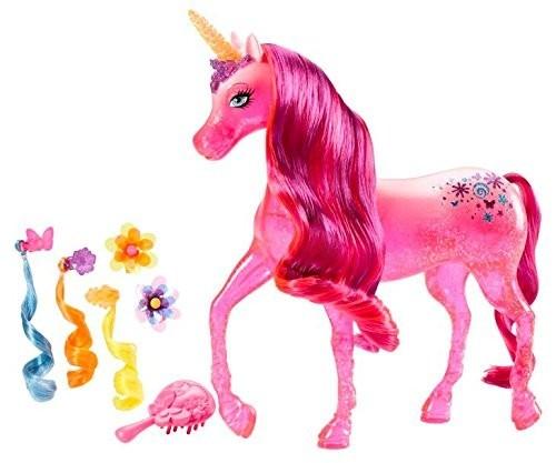 Mattel Barbie kouzelná dvířka Jednorožec parádník