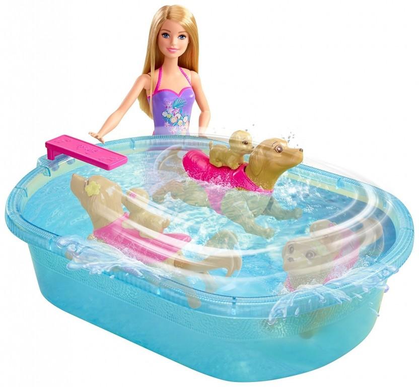 Mattel Barbie Bazén pro štěňátka