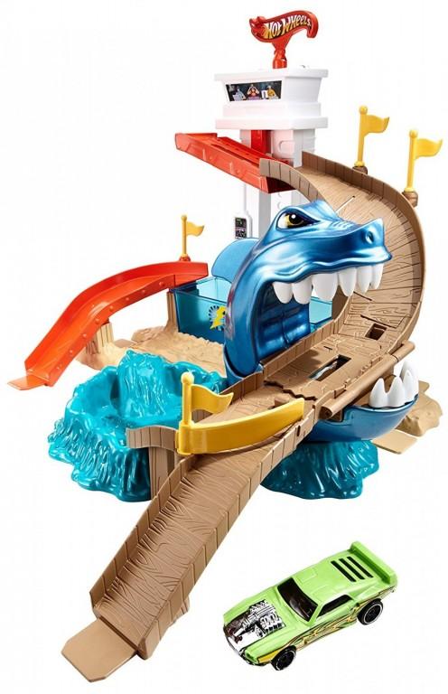 Mattel Hot Wheels Color Shifters Žraločí přístav