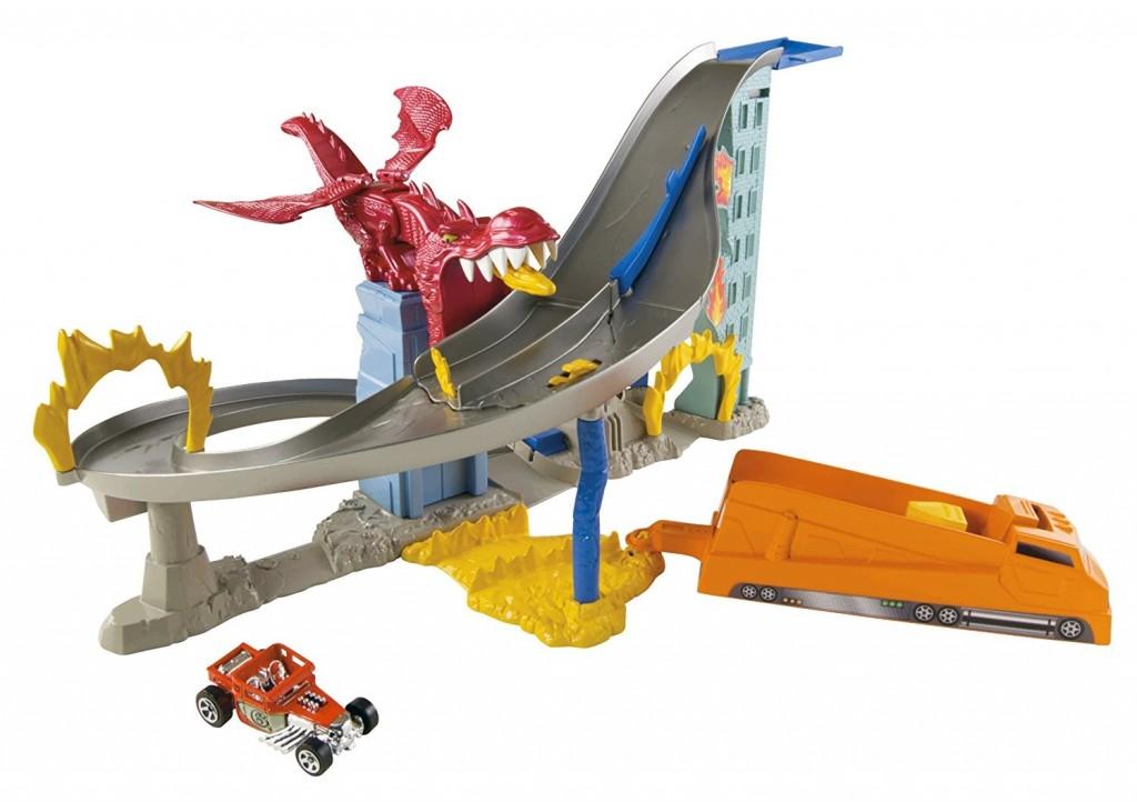 Mattel Hot Wheels Dračí útok