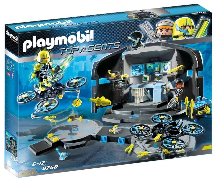 Playmobil 9250 Dr. Drone's Velitelské centrum