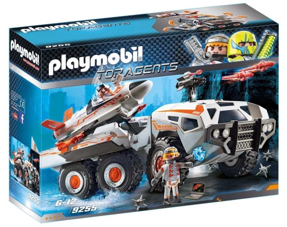 Playmobil 9255 Spy Team bojový vůz