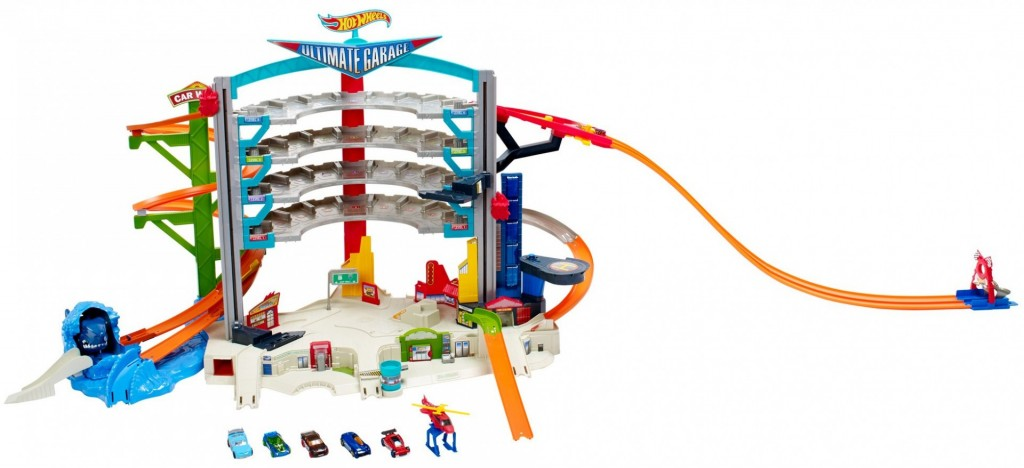 Mattel Hot Wheels Ultimátní mega garáž