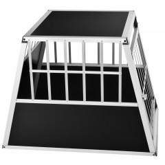 Přepravní hliníkový box pro psy do auta 65 x 91 x 69 cm č.2