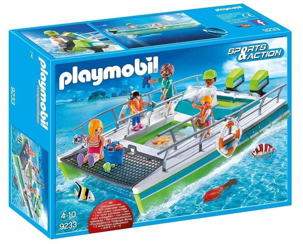 Playmobil Playmobil 9233 Člun s proskleným dnem