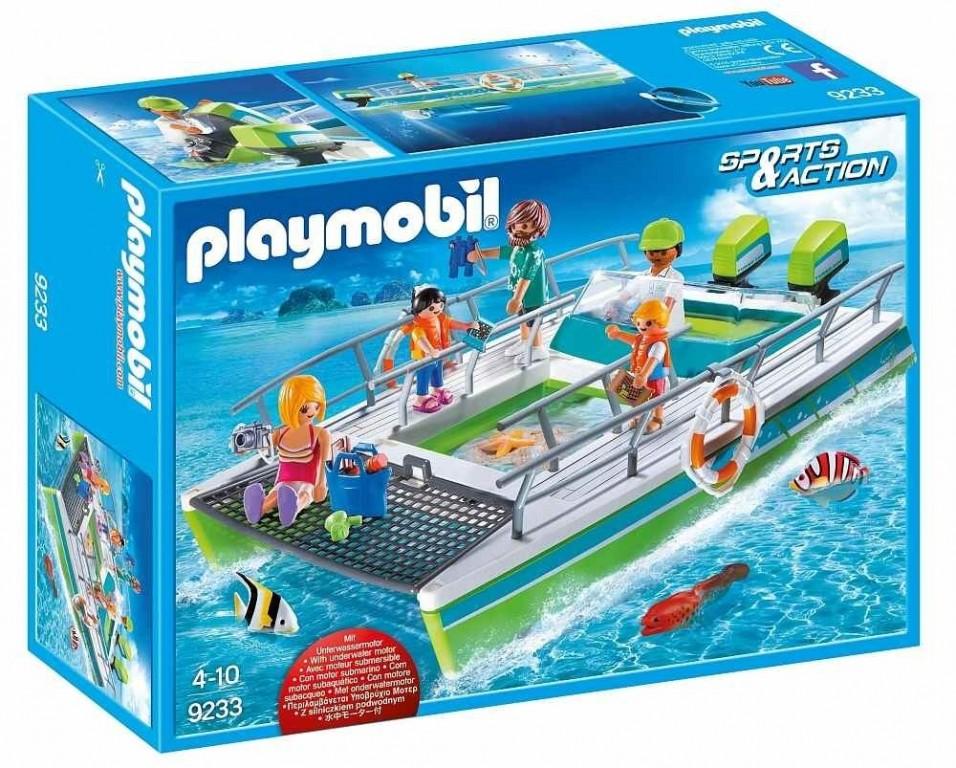 Playmobil 9233 Člun s proskleným dnem