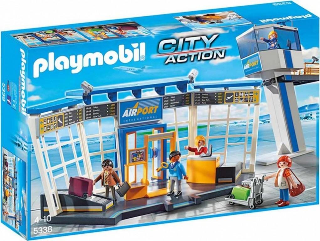 Playmobil 5338 Letiště s řídící věží