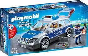 Playmobil Playmobil 6873 Policejní auto s majákem Playmobil