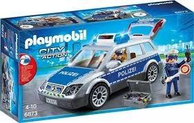 Playmobil 6873 Policejní auto s majákem