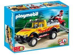 Playmobil Playmobil 4228 Pick-up se čtyřkolkou Playmobil