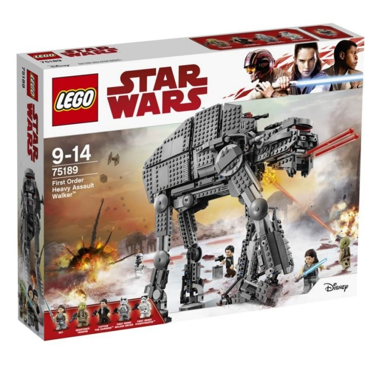 Lego Star 75189 Těžký útočný chodec Prvního řádu