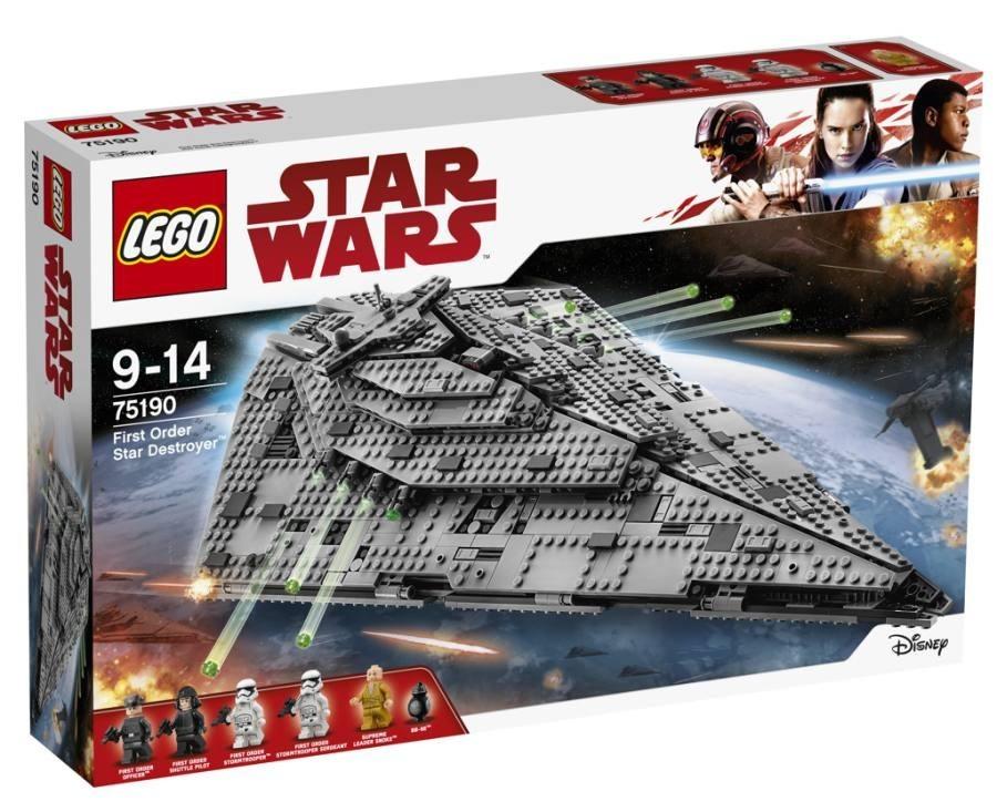 Lego LEGO Star Wars 75190 Hvězdný destruktor Prvního řádu