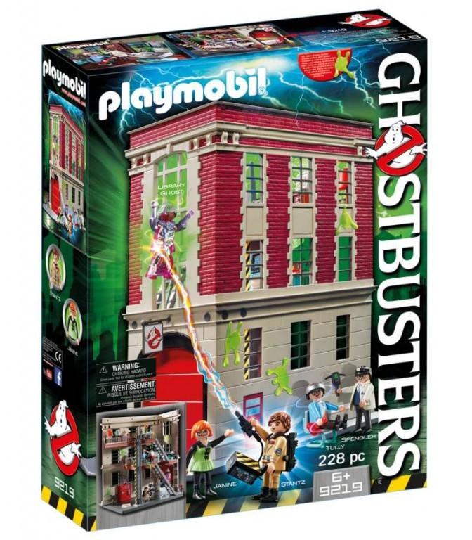 Playmobil Playmobil 9219 Ghostbusters Požární zbrojnice Playmobil