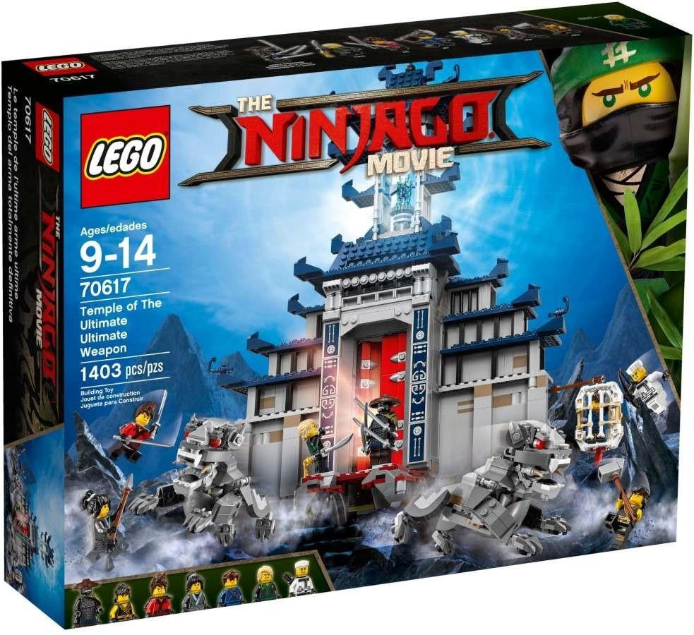 Lego LEGO Ninjago 70617 Chrám nejmocnější zbraně