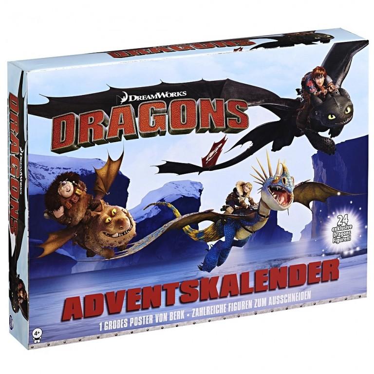 Adventní kalendář Dragons Jak vycvičit draka
